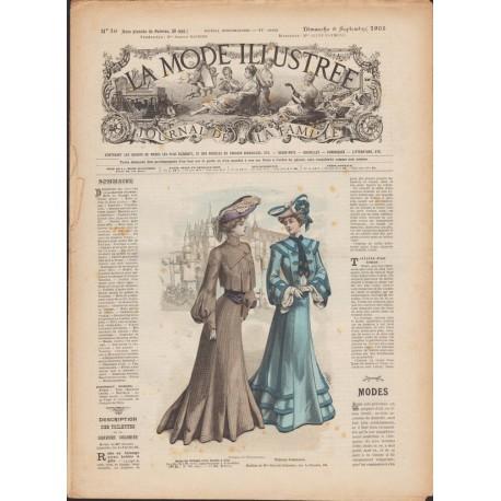 Complete magazine La Mode Illustrée 1903 N°36