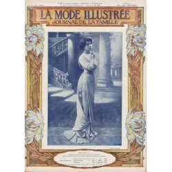 Revue complète de La Mode Illustrée 1910 N°9