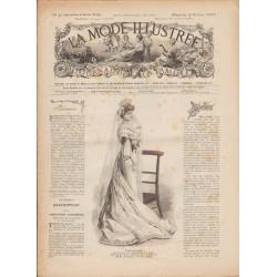 Complete magazine La Mode Illustrée 1903 N°40