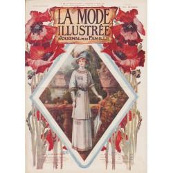 Complete magazine La Mode Illustrée 1910 N°12