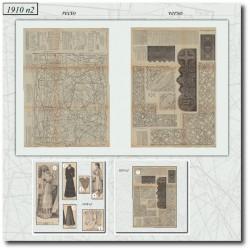 Sewing patterns Mode Illustrée 1910 02