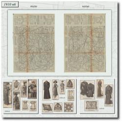 Sewing patterns Mode Illustrée 1910 06