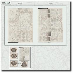 Sewing patterns La Mode Illustrée 1861 N°28