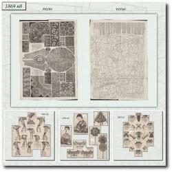 Sewing patterns La Mode Illustrée 1869 N°08