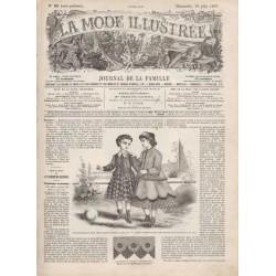 Revue complète de La Mode Illustrée 1867 N°26