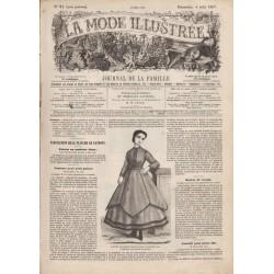 Revue complète de La Mode Illustrée 1867 N°31