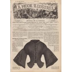 Complete magazine La Mode Illustrée 1861 N°41