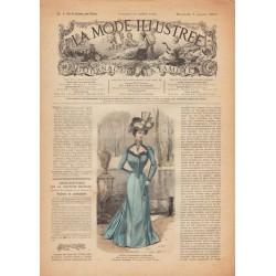Revue complète de La Mode Illustrée 1900 N°1
