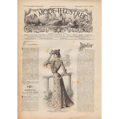 Complete magazine La Mode Illustrée 1902 N°32