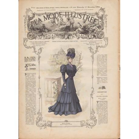 Complete magazine La Mode Illustrée 1905 N°51