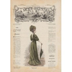 magazine La Mode Illustrée 1908 N°17