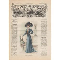 Complete magazine La Mode Illustrée 1908 N°43