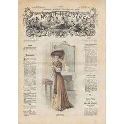 Complete magazine La Mode Illustrée 1908 N°45