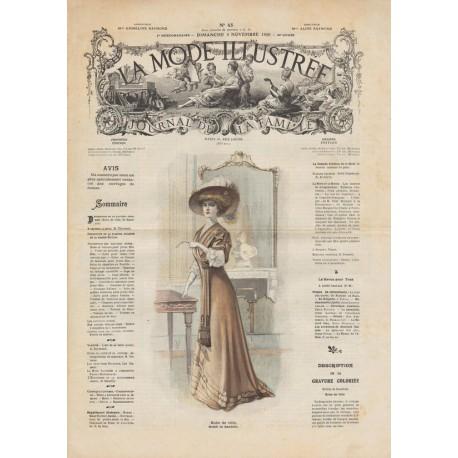 Revue complète de La Mode Illustrée 1908 N°45