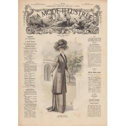 Complete magazine La Mode Illustrée 1909 N°11