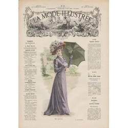 Complete magazine La Mode Illustrée 1909 N°26
