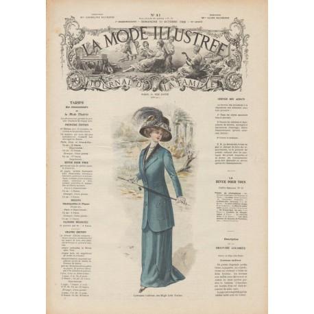 Revue La Mode Illustrée 1909 N°41
