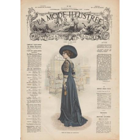 Revue complète de La Mode Illustrée 1909 N°52