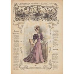 Complete magazine La Mode Illustrée 1906 N°01