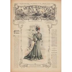 Complete magazine La Mode Illustrée 1906 N°05