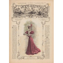 Complete magazine La Mode Illustrée 1905 N°18