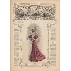 Revue complète de La Mode Illustrée 1905 N°18