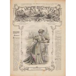 Complete magazine La Mode Illustrée 1907 N°15