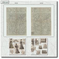 Sewing patterns La Mode Illustrée 1904 N°44