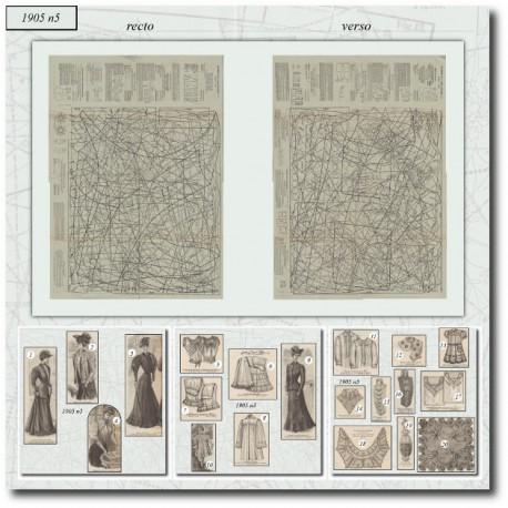 Patrons-jupon-culotte-robe-parure-1905-5