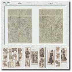 Sewing patterns-lace-bra-1905-25