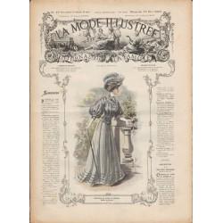 Complete magazine La Mode Illustrée 1907 N°19