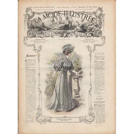 Revue complète de La Mode Illustrée 1907 N°19