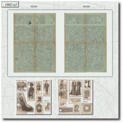 Sewing patterns La Mode Illustrée 1902 N°2