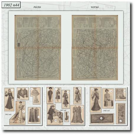 Patrons de La Mode Illustrée 1902-44