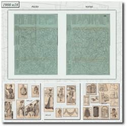 Sewing patterns-pastpatterns-fashion-paris-1900-18