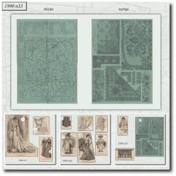 Sewing patterns La Mode Illustrée 1900 33