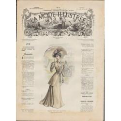 Complete magazine la Mode Illustrée 1908 13