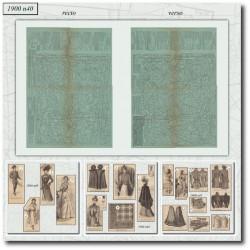 Sewing patterns La Mode Illustrée 1900 N°40