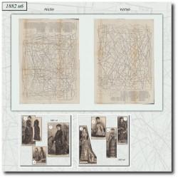 Sewing patterns La Mode Illustrée 1882 N°06