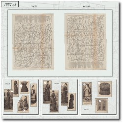 Patrons de La Mode Illustrée 1882 N°03