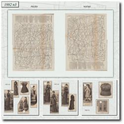 Sewing patterns La Mode Illustrée 1882 N°03