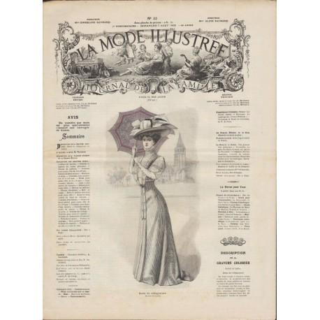 Complete magazine La Mode Illustrée 1908 N°32