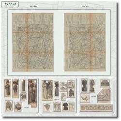 Sewing patterns La Mode Illustrée 1912 N°05
