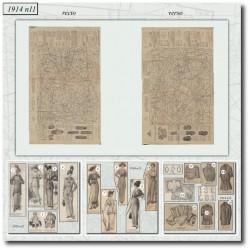 Sewing patterns-shirt-skirt-1914-11