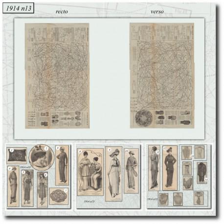 Patron-chapeau-robe-col-1914-13