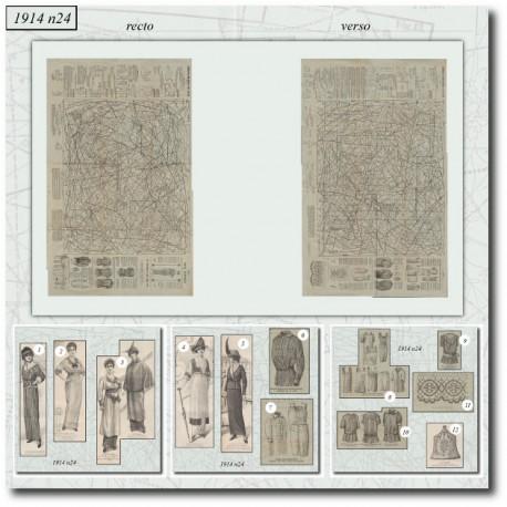 Patron-veste-robe-lingerie-1914-24