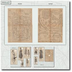 Sewing patterns-beach-sport-1916-22
