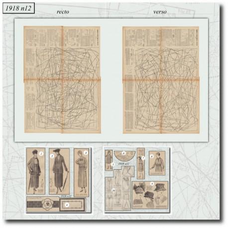 Sewing patterns-dress-1918 N°12