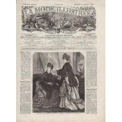 Complete magazine La Mode Illustrée 1873 N°36