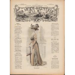 Revue complète de La Mode Illustrée 1909 N°09